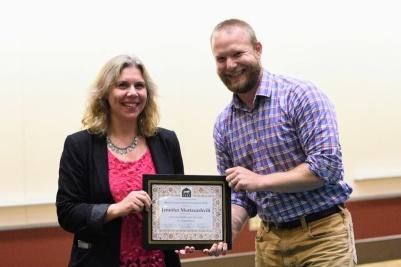 Jennifer Murtazashvili receives the 2018 CESS Book Award (Social Sciences)