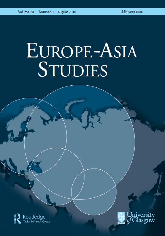 Europe-Asia Studies cover