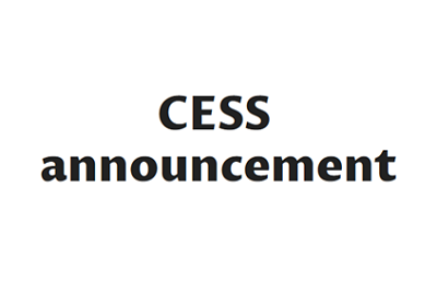 CESS-announcement
